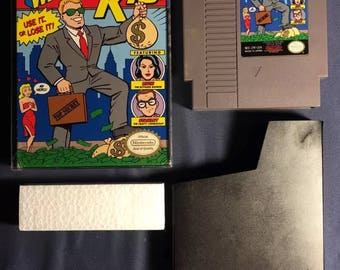 Wall Street Kid Nintendo NES Video Game NA Version Almost Complete From 1990