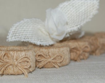 Rustic and chic napkin holders napkin rings kitchen and dining decor
