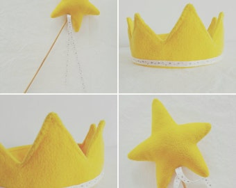 Costume fairy - Crown and wand