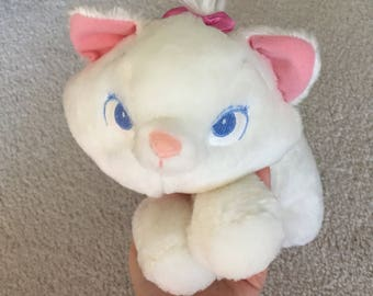 Disney artistocats marie plush cat