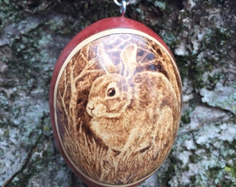 Rabbit Ornament egg gourd