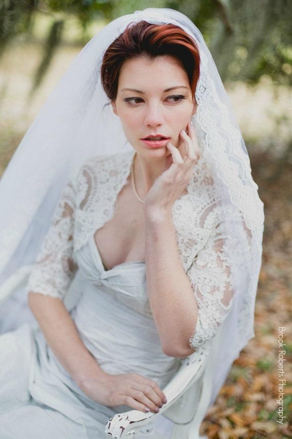 Plus Size Lace Wedding Bolero Plus size Lace Wedding Jacket