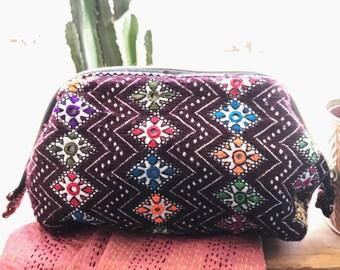 Tribal Fabric Cosmetic Bag