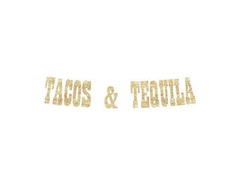 Tacos and Tequila Banner | taco, tequila, patron, fiesta banner, cinco de mayo banner, fiesta, 5 de mayo, guacamole
