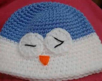 Owl hat - toddler
