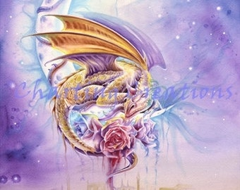 Dragon Dreams Counted Cross Stitch Pattern