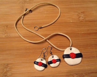 Small sailor set with polymer clay