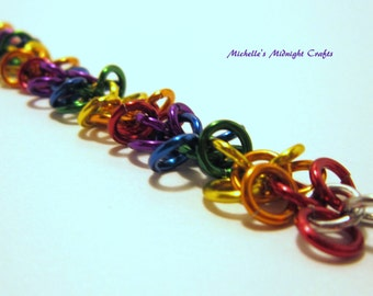 Chainmaille Shaggy Loops Bracelet