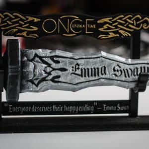 Dark One Dagger | Customizable Name | Personalised | Rumpelstiltskin | Emma Swan | Once Upon a Time