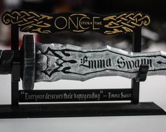 Dark One Dagger | Customizable Name | Personalised | Rumpelstiltskin | Emma Swan | Once Upon a Time