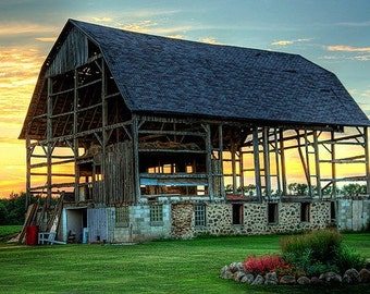 Barn Art, Barn Decor, Rustic Decor, Country Art, Country Decor, Home Decor, Farmhouse Art, Large Wall Art, Broken but Beautiful