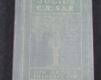 The Tragedy of Julius Caesar // 1915 Hardback //rare vintage 1915