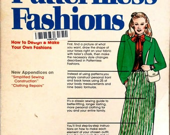Patternless Fashions, vintage book on designing your own fashions