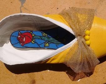"""DIY """"Belle"""" Pointe Shoe"""