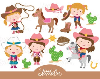 cowgirl clipart - wild west cowgirl clipart - 15028
