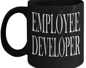 Custom Employee Developer Boss Coffee Mug