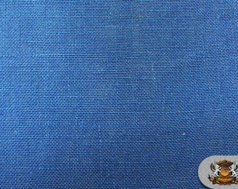 "Burlap Jute NAVY BLUE Fabric / 58"" / Sold by the yard"