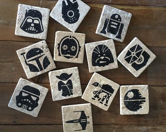 Star Wars Pick Your Own Set Stone Coasters