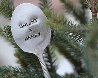 Bright & Merry Silverware Marker (E0527)
