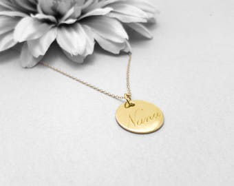 Nana Gift, Gold Nana Necklace, Best Nana Ever, Worlds Best Nana, Gift For Grandma, Grandma Necklace,
