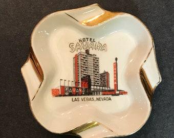 Hotel Sahara Vintage Ashtray from Las Vegas, Nevada