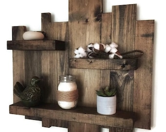 pallet furniture etsy. Rustic Wall Shelf, Reclaimed Wood Pallet Floating Furniture Etsy E