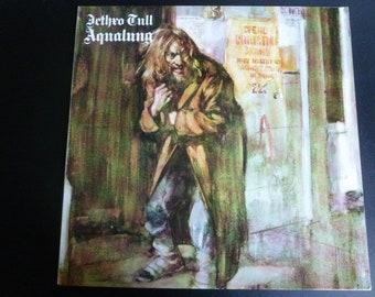 Jethro Tull Aqualung Vinyl Record LP FV 41044 Chrysalis Records 1983