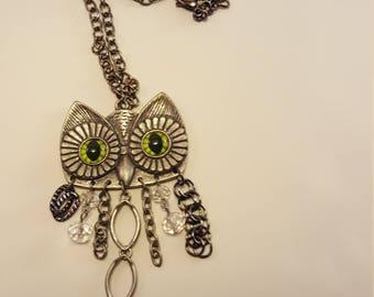 Trendy Owl Pendant Necklace