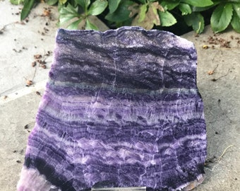Large Slice of Mexican Fluorite