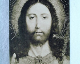 Musee Royal D'Anvers (241) Quentin Massys Tete du Christ  Post Card #11