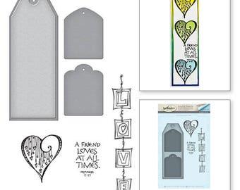 Spellbinders Love Stamp and Die Set Bible Journaling by Joanne Fink
