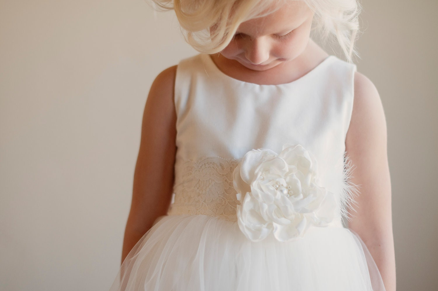 The Sorrel Flower Girl Dress