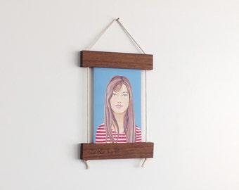 Makeforgood, Fine Art Print, Frame, Collaboration, Reclaimed Wood, Dark Wood, Framed Print, Print, Make For Good