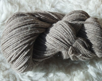 NEW Rare MERINO Natural Taupe Yarn Limited Edition  DK weight