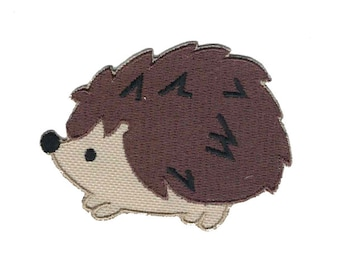 Cute Hedgehog Iron On Applique  Iron On Patch
