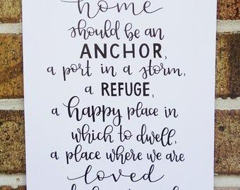 Home quote - Marvin J. Ashton