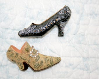 Vintage Brooch Victorian Style Shoe Pins Accessorize with Shoes