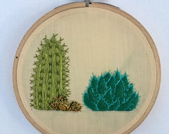 Cactus B Embroidery