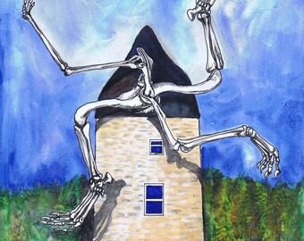 Homologous hindlimb windmill