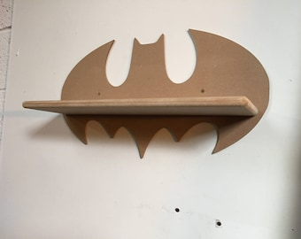 Batman shelves mdf wall hanging