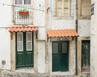 Portugal Travel Prints // Neutral Art Decor // Gallery Wall Prints // Travel Photography // Lisbon Portugal Wall Decor // Art Prints