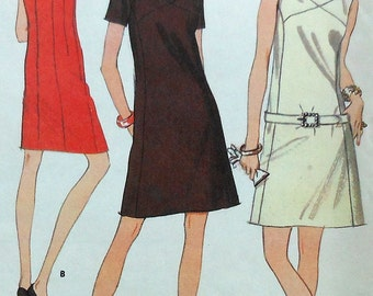Vintage Dress Sewing Pattern UNCUT McCalls 9105 Size 12