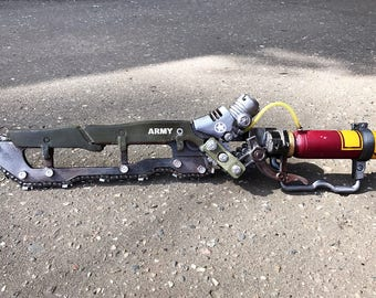 Fallout inspired ripper sword