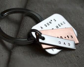 Custom Keychain - Father's Day - Personalized