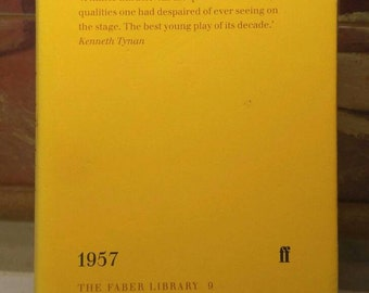John Osborne, Look Back In Anger, Faber Library Limited Edition Book w/ Dust Jacket (1996)