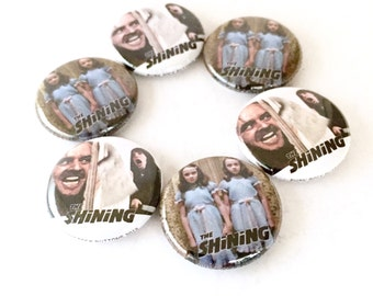 The Shining 1inch Pinback Buttons or Magnets
