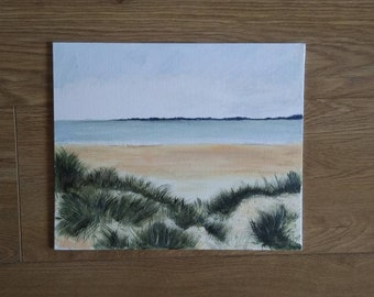 NEW* Beach sand dunes seaside painting