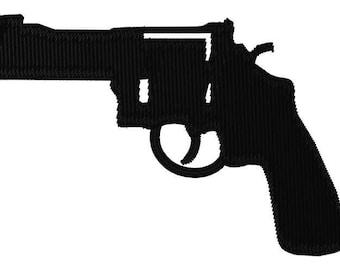 Pistol Revolver Embroidery File