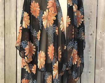 Kimono ,sheer kimono ,boho kimono ,chiffon kimono ,holiday kimono ,paisley kimono ,flowy kimono ,gift kimono ,trendy kimono ,vacation kimono