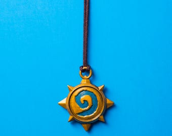 Hearthstone /  World of Warcraft 1.5 inch Necklace